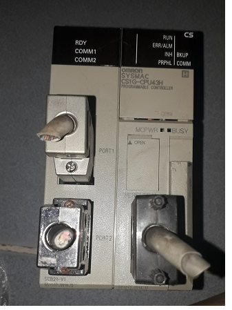 PLC OMRON CS1G-CPU43H
