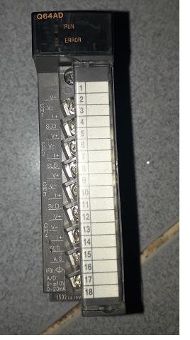 Module Analog PLC Mitsubishi Q64AD